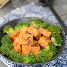 西兰花烧豆腐