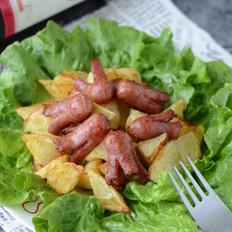 章鱼香肠烤土豆