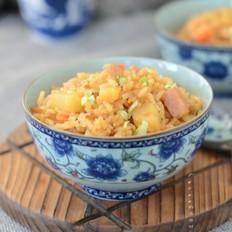 火腿咖喱焖饭