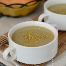 薏米木瓜花粉绿豆浆的做法