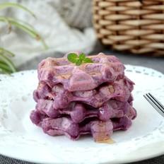 大米紫薯华夫饼