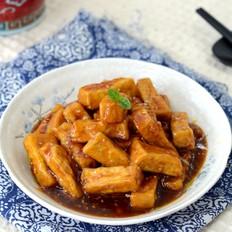 糖醋芝麻豆腐