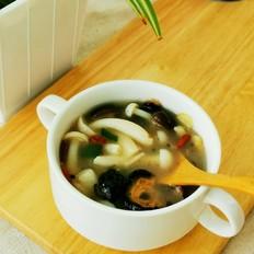 菌菇海参汤