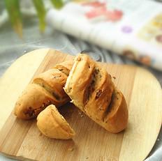 全麦硬质核桃苏打面包