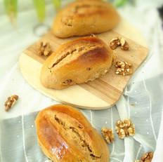 中种红糖核桃面包
