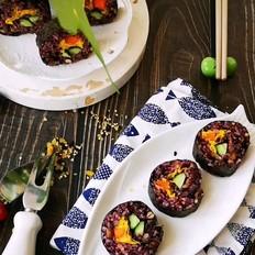 饱腹享美味,营养不发胖--杂粮寿司
