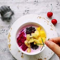 紫米水果捞