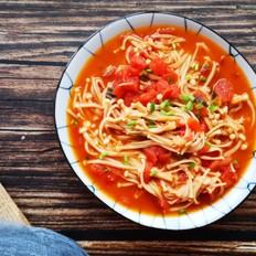 超下饭番茄金针菇