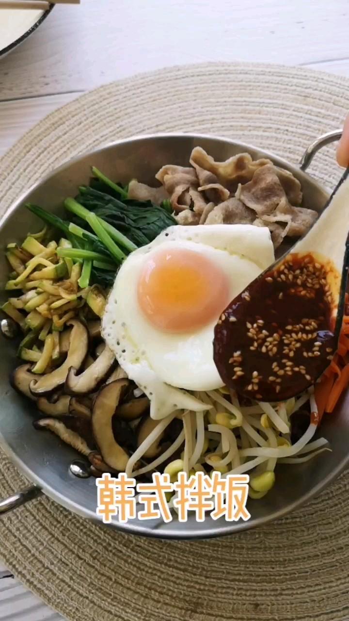 杂粮韩式拌饭