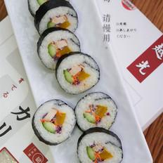 烟熏鸡脯寿司