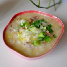 腊肠蔬菜粥