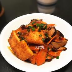 韩式煎豆腐的做法