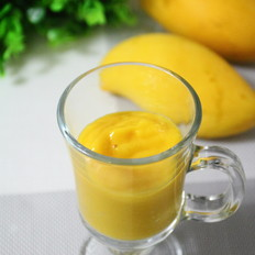 牛奶芒果汁