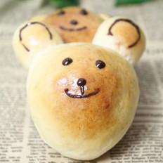 小熊豆沙包
