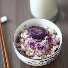 杂粮豆浆米饭