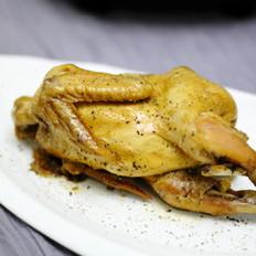 无水电压力锅焗鸡