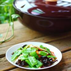 荷兰豆炒时蔬菜