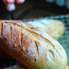 燕麦坚果粗粮面包