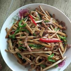 青椒豆腐干