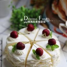 榴莲千层裸蛋糕