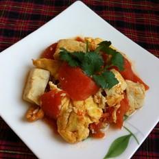 西红柿鸡蛋豆腐