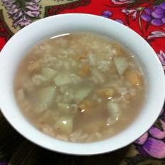 莲藕山药大米粥
