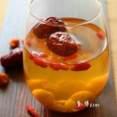 桂圆红枣枸杞古方红糖