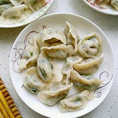 香菇韭菜鸡蛋饺子