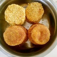 红枣板栗南瓜饼