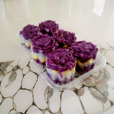紫薯山药玉米糕