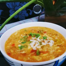 营养开胃酸辣疙瘩汤