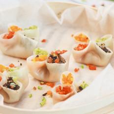 四喜蒸饺美食烹制作教程