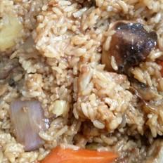 脆骨焖米饭