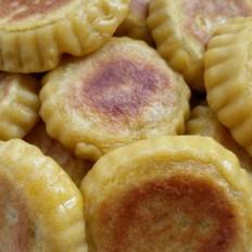 南瓜肉松饼
