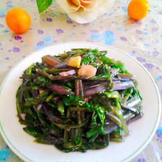 蒜蓉红菜苔