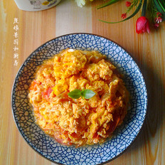西红柿炒鸭蛋