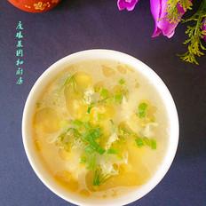 韭菜花鸡蛋汤