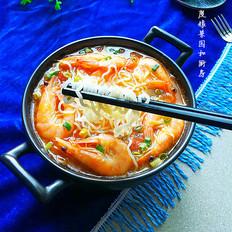 茄汁大虾米粉