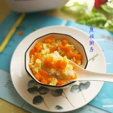 南瓜小米饭