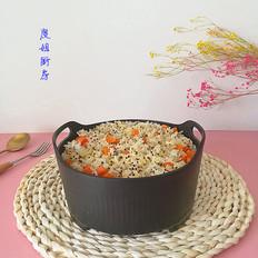胡萝卜藜麦小米饭