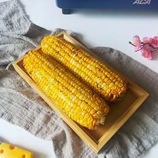 烤箱版烤玉米