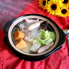 白菜粉丝小砂锅