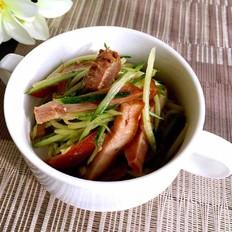 猪头肉拌青瓜