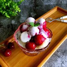 diy水果酸奶杯