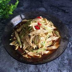 腐竹黄瓜丝