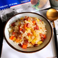 黑椒火腿炒饭