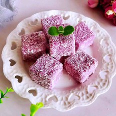 奶香紫薯小方