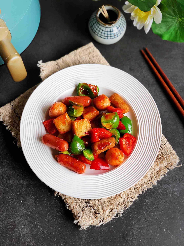 烤鱼豆腐的做法