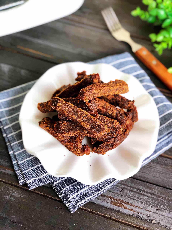 自制香辣牛肉干的做法