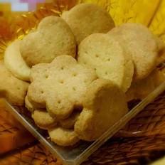 黄油椰蓉曲奇饼干